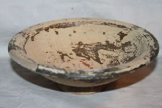 Large Ancient Roman Pottery Bowl/dish 3/4th Ad photo