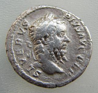 Septimius Severus 193-211 Ad Silver Denarius. Victoriae Brit. Scarce Ric 335 photo