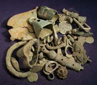 Celtic And Roman Dirty Artefact Mix photo
