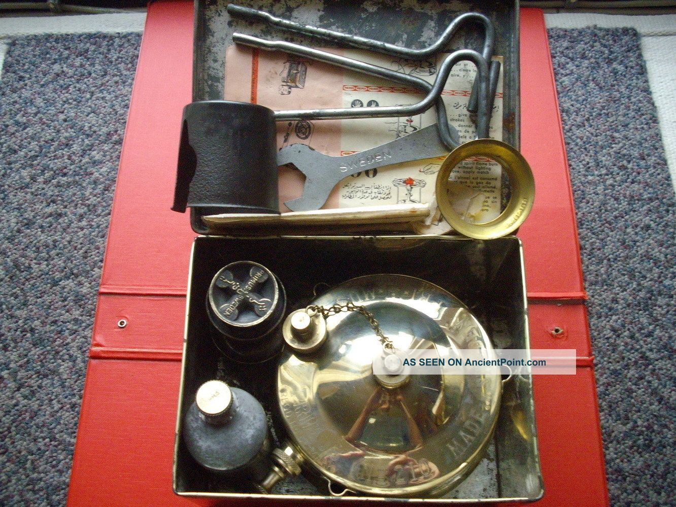 Primus 210 Paraffin Kerosene Stove Backpacking Camping Working Other photo