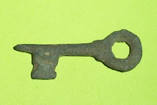 Authentic Medieval Key Old Rare Artifact Lock Tool Antiquity Rare Antique photo