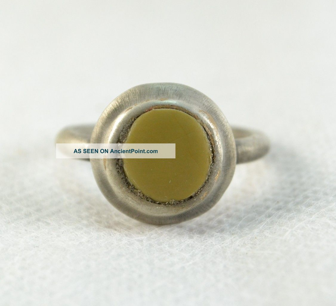 Roman Ring With Stone Inset Roman photo