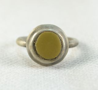 Roman Ring With Stone Inset photo
