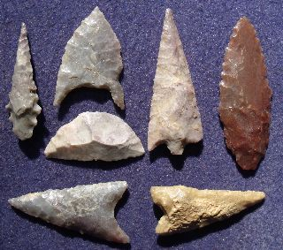 7  Sahara Neolithic Points And Tools photo