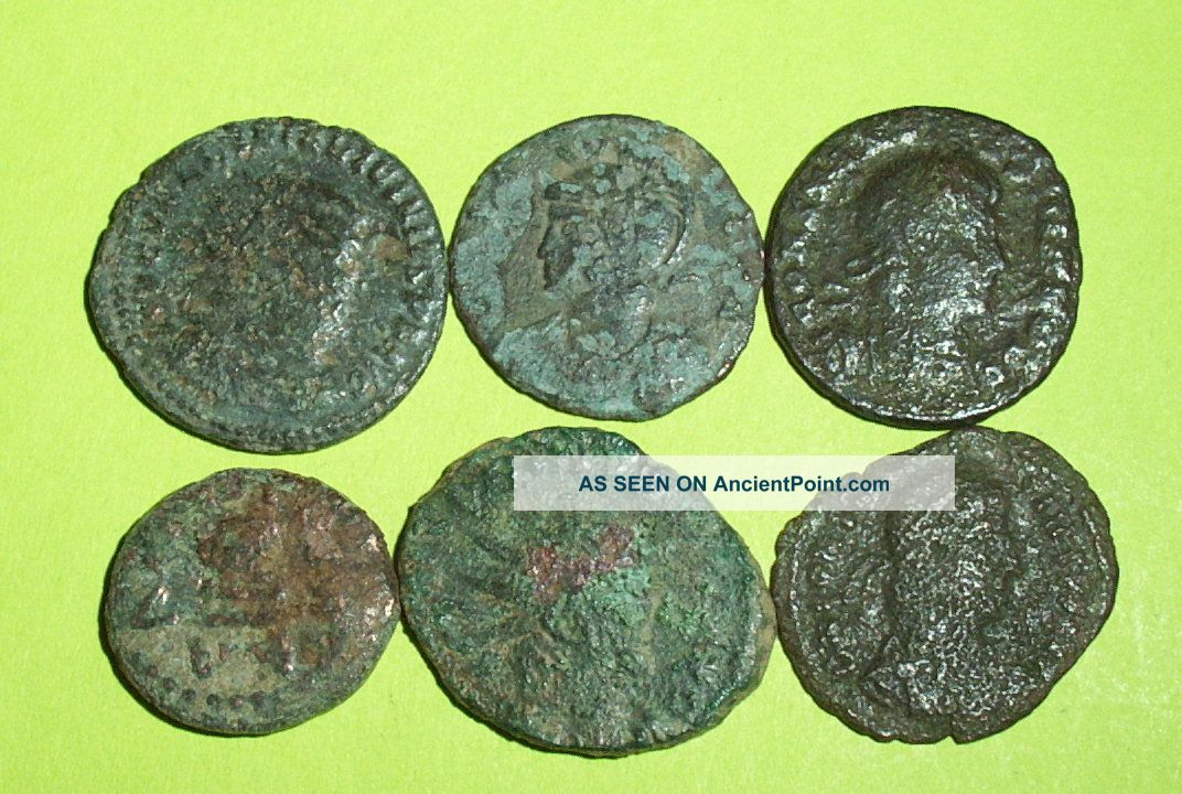 Collection Of Ancient Roman Coins Old Money Lot Artifact Treasure