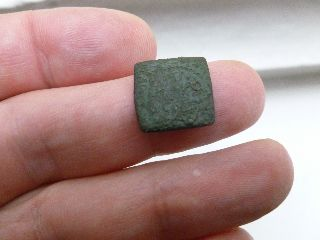 Early Unidentified Coin Weight - Metal Detector Find - No. 6 photo