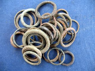Medieval Harness Rings /ring Money X 30 photo
