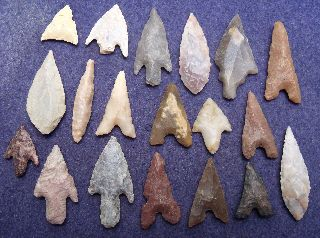19 Good Sahara Neolithic Points And Tools photo