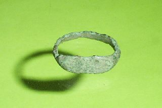 Rare Ancient Roman Ring Size 8 Jewelry Old Artifact Treasure Antique Antiquity photo