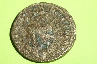 Huge Authentic Ancient Roman Provincial Coin Ram Tyche Philip I Antioch Rare Vf photo
