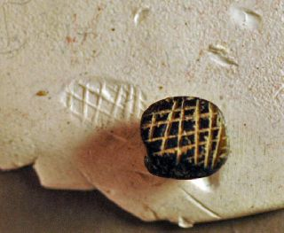 Stamp. Levantine Bronze Age Stone Over 3000 Years Old Nr photo