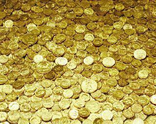$$$ ~ 125 Presidential Gold Dollars. $ Dollar Coins. With Collectors Dream. $$$ photo