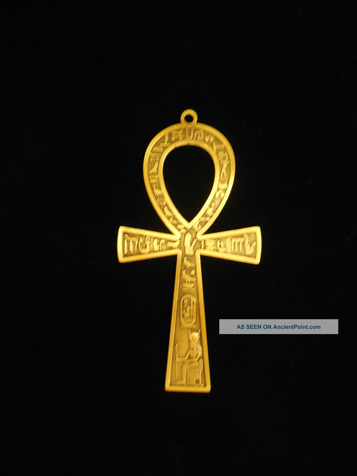 Egyptian Ankh Brass Wa...