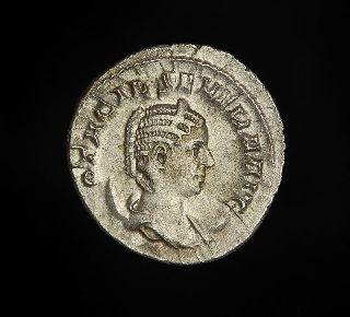 Roman Antoninianus Coin Otacilia Severa 1000th Anniversary Of Rome photo