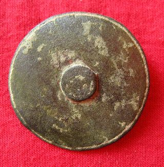 Roman Military Bronze Decoration Shield 40mm P114 photo