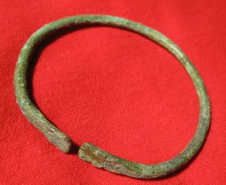 Roman Bronze Bracelet 70mm 1044 photo