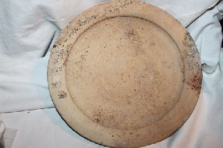 Large Ancient Roman Pottery Plate 1st Ad photo