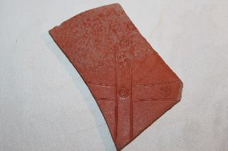 Large Ancient Roman Pottery Christogram Shard 4th Samian photo