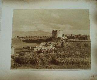 Photograph By James Anderson Of The Sepocro Di Cecilia Metella In Rome photo