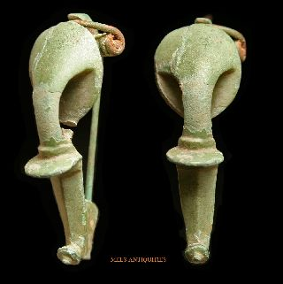 Ancient Roman Trumpet Fibula Mels - Antiquities photo