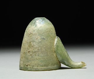 Ancient Islamic Medical Cupping Glass photo