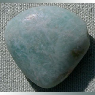 Ancient Triangular Tabular Amazonite Pendant Stone Bead Mali Mauritania 168 photo