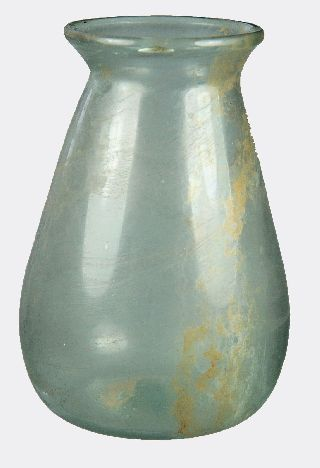 Roman Pale Blue Glass Vase photo