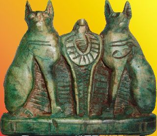 3 Egyptian Pharaonic Items,  High Quality Re - Production photo