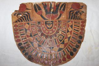 Ancient Egyptian Mummy Cartonage Collar 30th Dynasty/ Late Dynastic Period photo