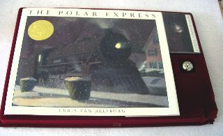 The Polar Express Gift Set With Tape & Bell In Box 1985 1st Edition photo