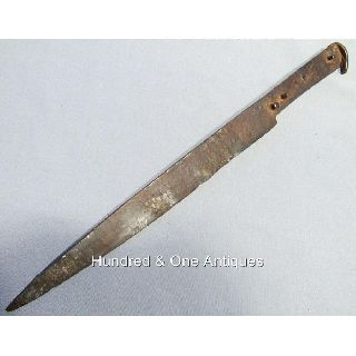 Antique Medieval German Dagger For Sword 15th Century photo