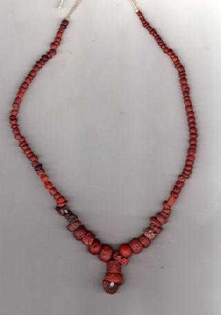 Egyptian Beaded Necklace C.  1200 - 500 B.  C photo