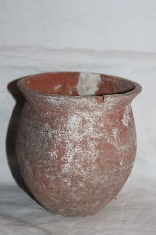 Ancient Egyptian Storage Jar 800 Bc photo