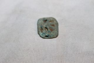Ancient Egyptian Faience Amulet Uzat Eye 30th Dyn photo