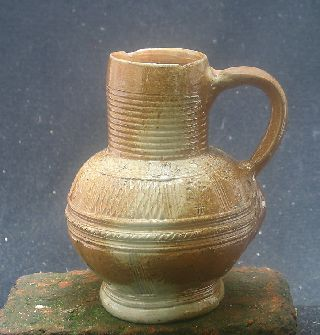 Top Quality German,  Raeren,  Stoneware Jug Early 17th Century. photo