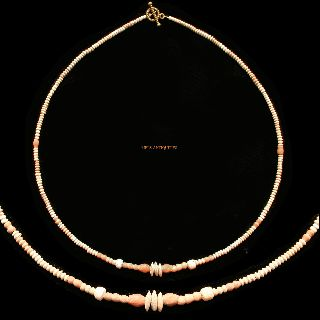 Ancient Egyptian Coptic Faience Bead Necklace 1 - 3 Ad Jewellery 27 photo