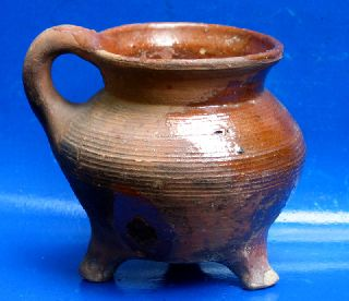 Early 16th Century Dutch Ceramic Cooking Pot photo