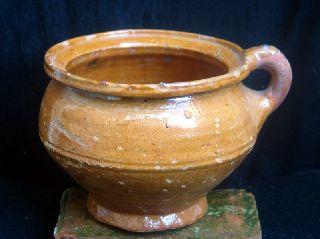 16th Century Dutch Ceramic Chamber Pot photo
