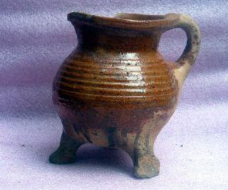 Gothic,  15th Century Dutch Ceramic Cooking Pot photo