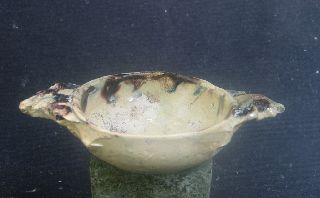 Authentic Early 17th Century French Pallisy - Bove Porridge Or Wine Bowl. photo