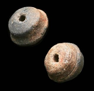 Ancient Pre Columbian Spindle Whorl Mels - Antiquities photo