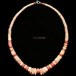Ancient Quartz Crystal Neolithic Sahara Beads Neckllace 7000 Bc - Jewellery photo