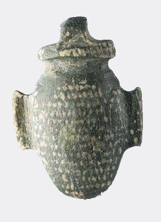 Egyptian Stone Heart Amulet photo