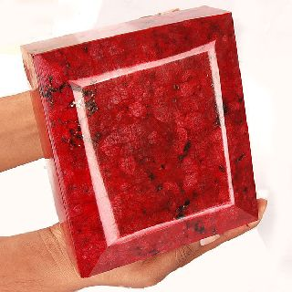 35355 Cts Certified Biggest True Museum Grade Natural Ruby ~ Authentic Gem photo