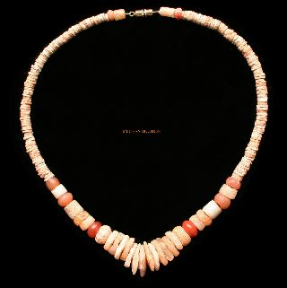 Ancient Neolithic Crystal - African Stone Necklace 7000 Bc - 1000ad Jewellery N41 photo