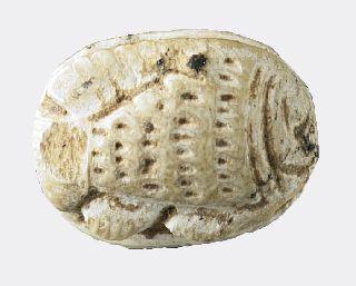 Egyptian Steatite Fish Seal photo