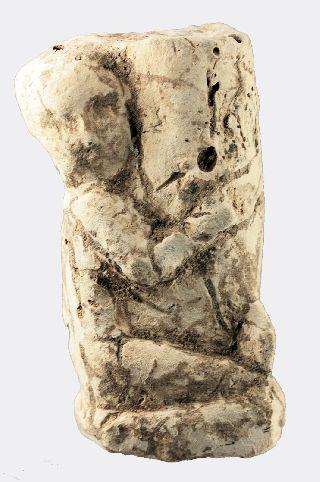 Egyptian Limestone Priapic Figure photo