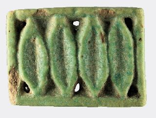 Egyptian Faience Openwork Amulet photo