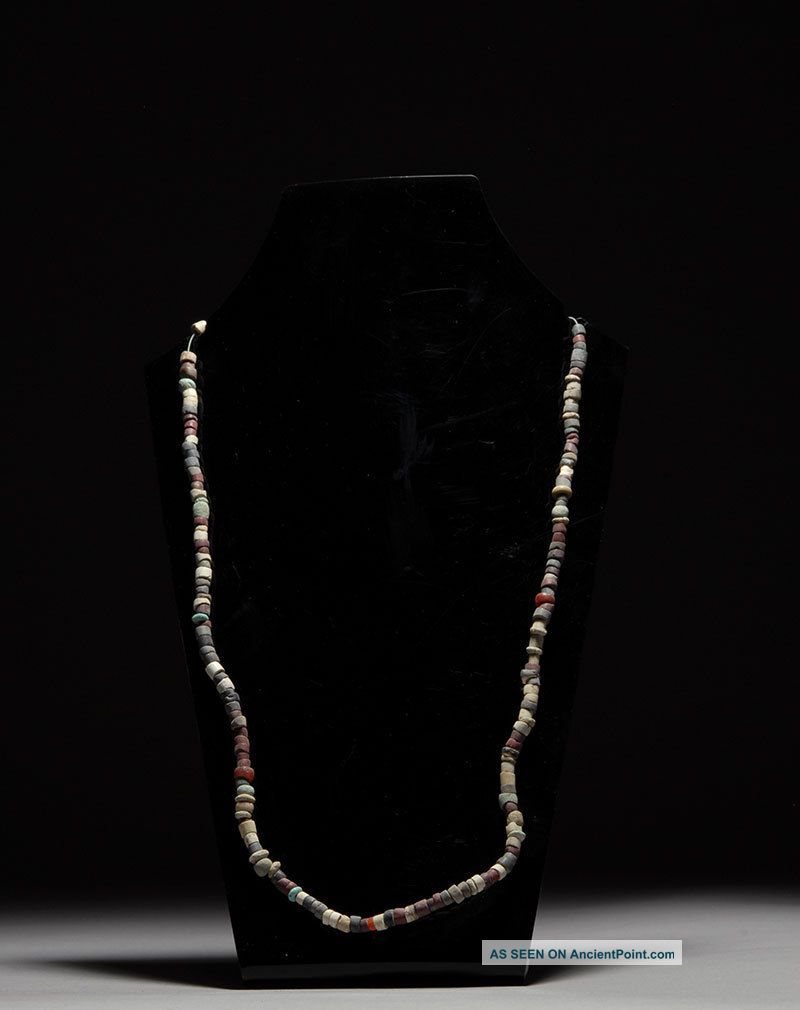 Ancient Near Eastern Jewelry Bead Necklace - 1st Millennium B.  C. Near Eastern photo