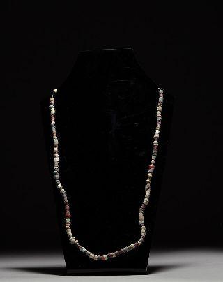 Ancient Near Eastern Jewelry Bead Necklace - 1st Millennium B.  C. photo